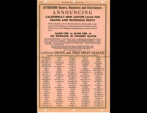 1954 CGTFL Newspaper