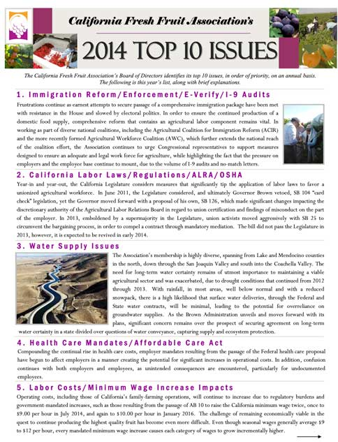 2014 Top Issues